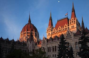 hongarije gebouw