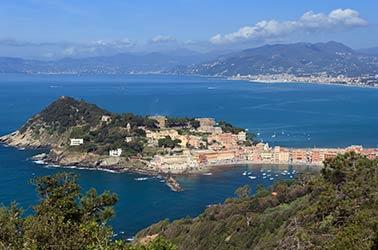 kleine stad in italie