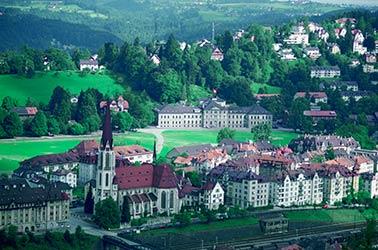 zwitserland dorp