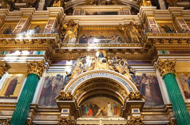 kathedraal in sint petersburg